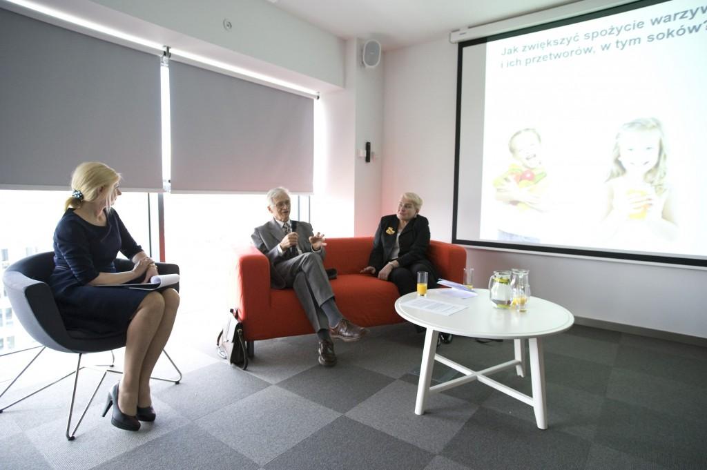 prof. dr hab. Witold Płocharski, prof. dr hab. Krystyna Gutkowska (fot. materiały prasowe)